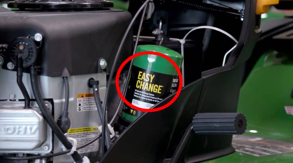 How To: Change the Easy Change Oil System on John Deere Mowers